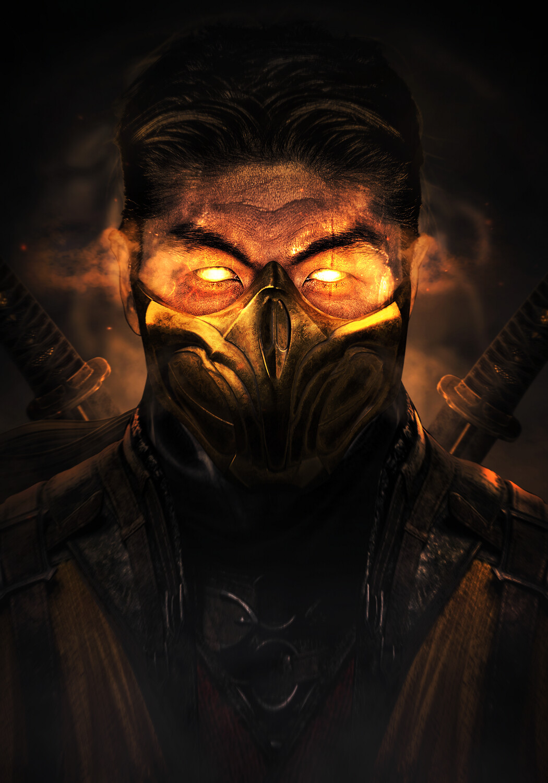 Artstation Mortal Kombat 11 Scorpion Brian Tee Mizuri Au