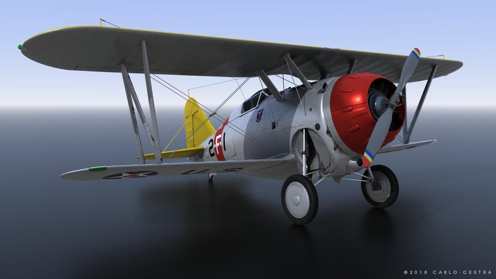 GRUMMAN F2F-1