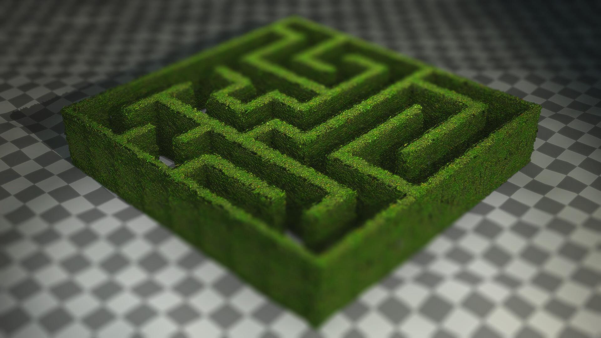 Gregory bove maze render