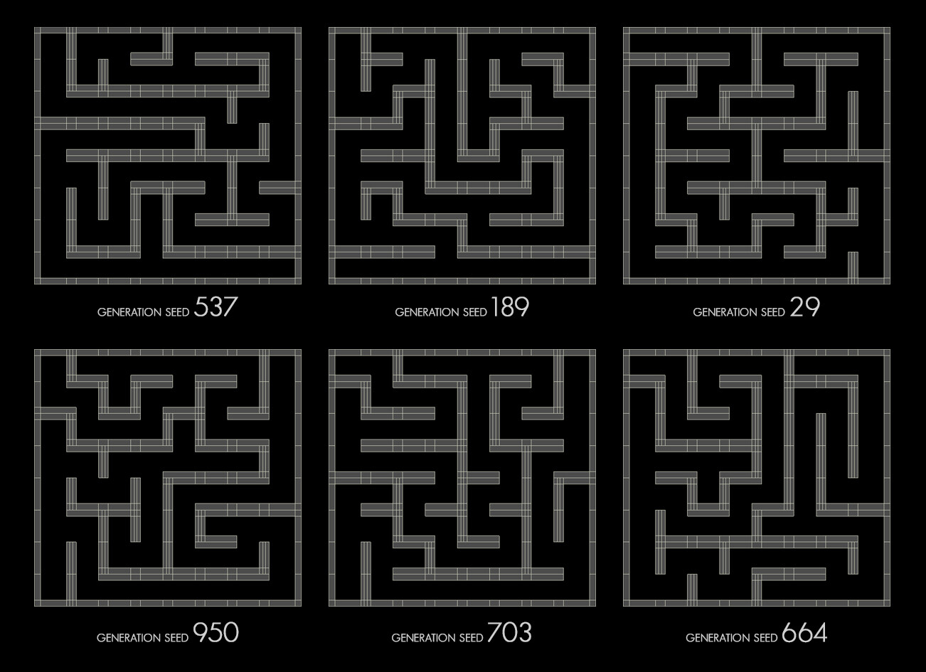 Gregory bove maze generations