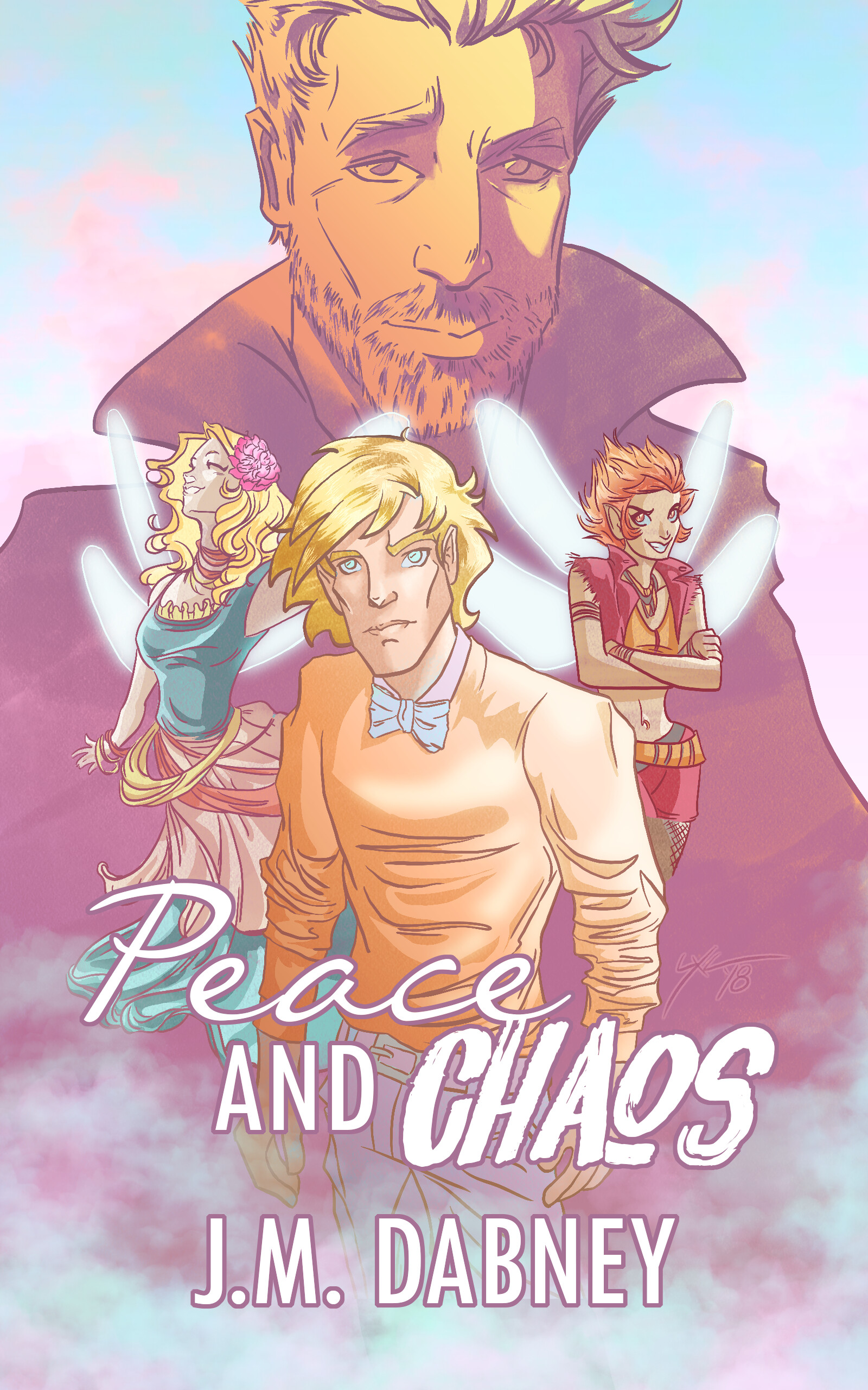 Peace and Chaos by J.M. Dabney - Final Cover