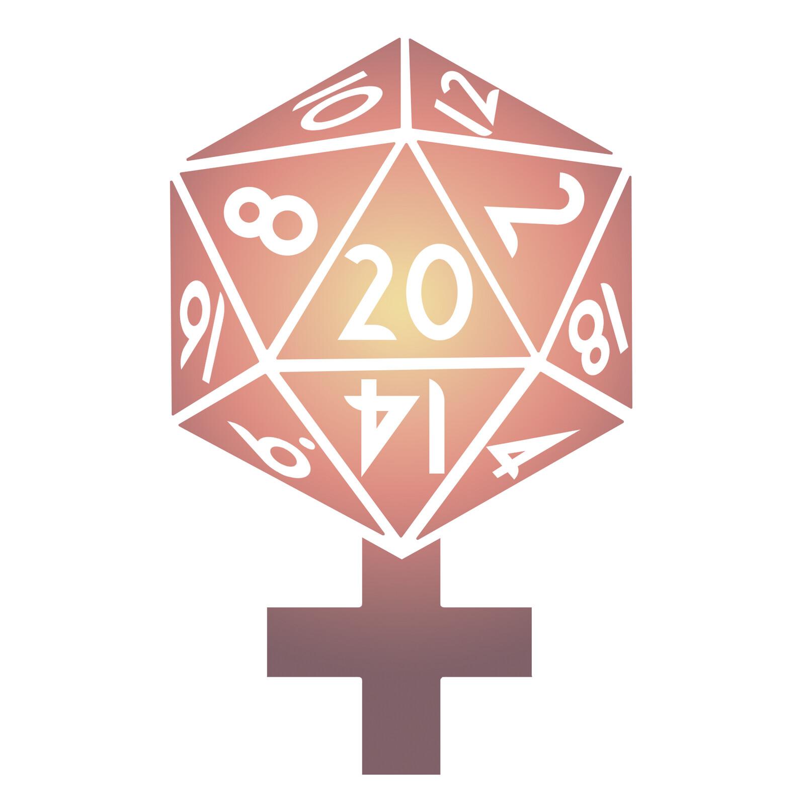 Logo: Women in Tabletop Gaming