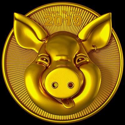 Ying te lien big pig