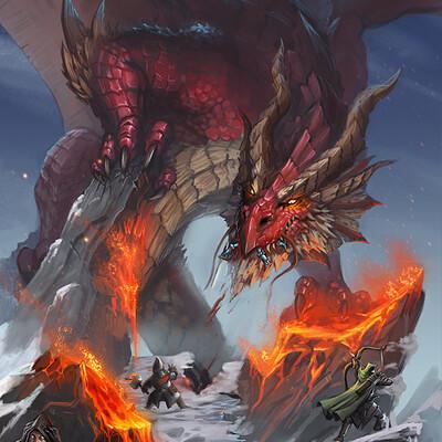 Bruno cesar red dragon