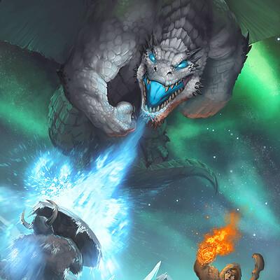Bruno cesar white dragon