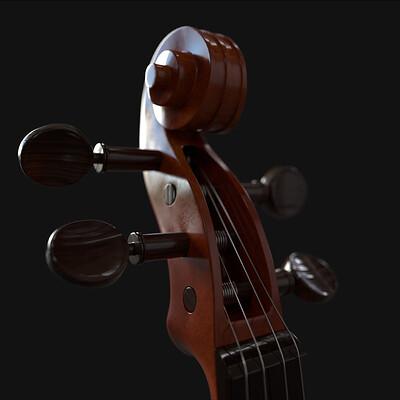 Sahabaz mazumder violin render01