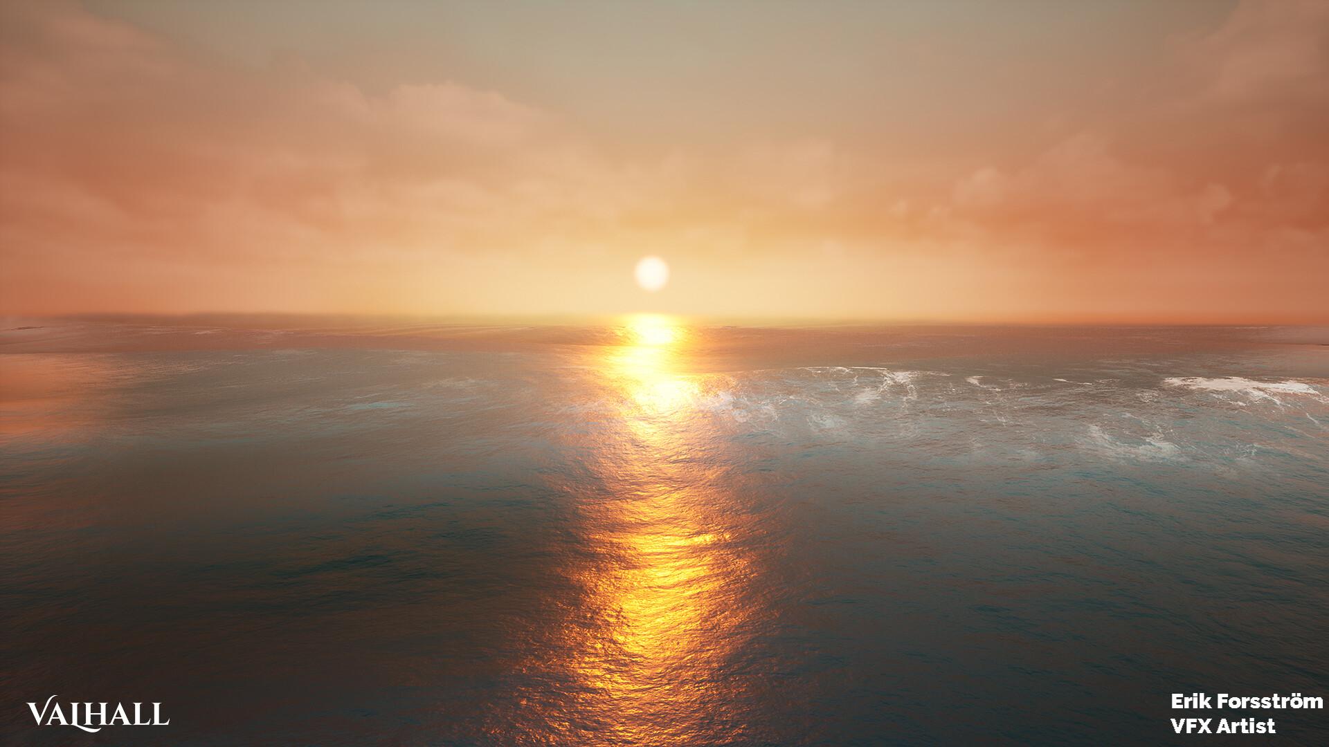 Erik forsstrom erik forsstrom ocean sunset 02
