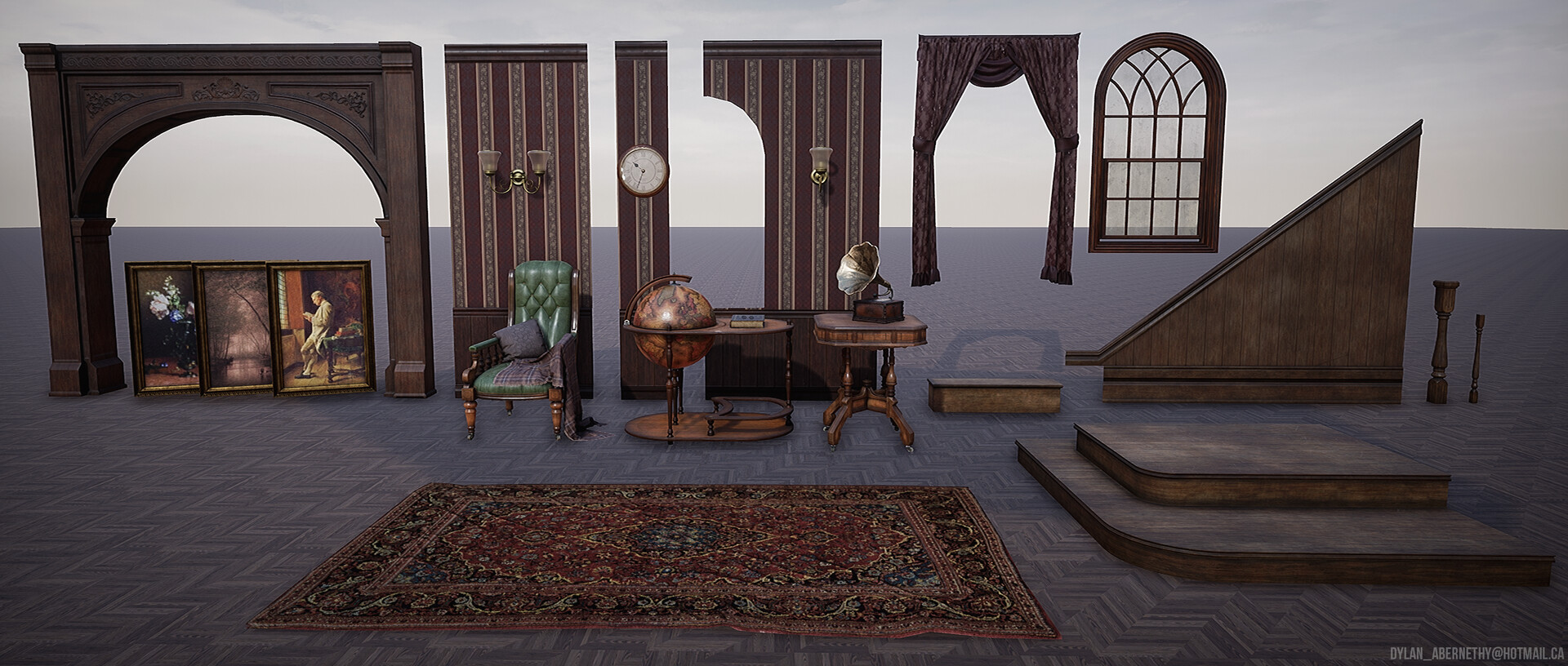 Scene Asset Collection