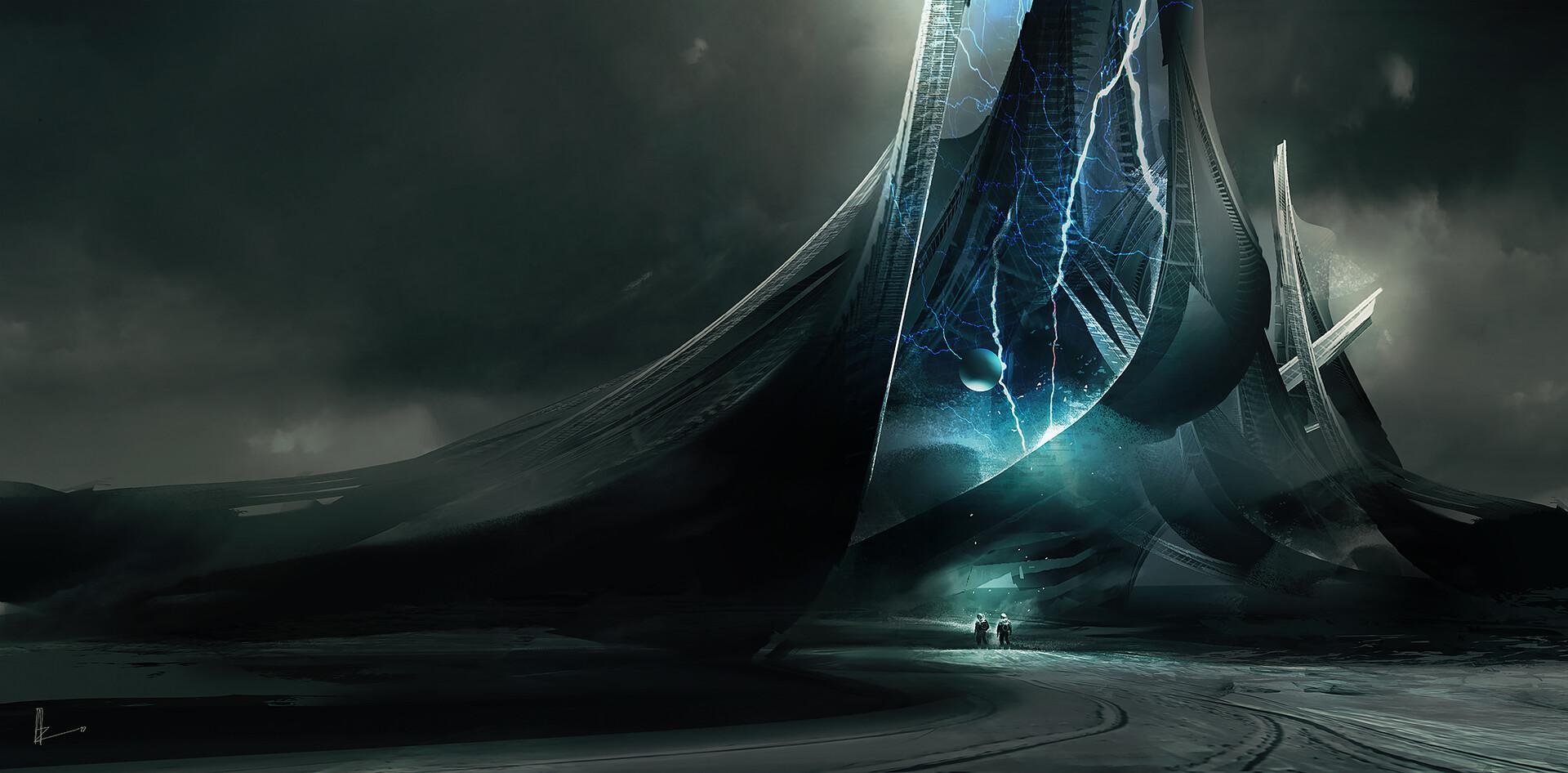 Amir zand alien structure