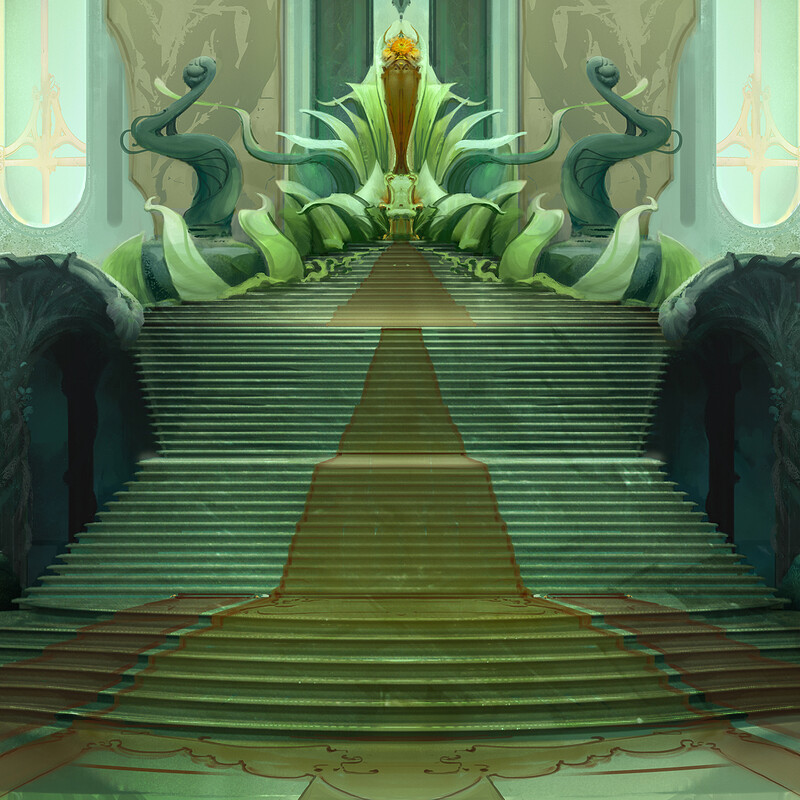 Secret Kingdom - Throne Room