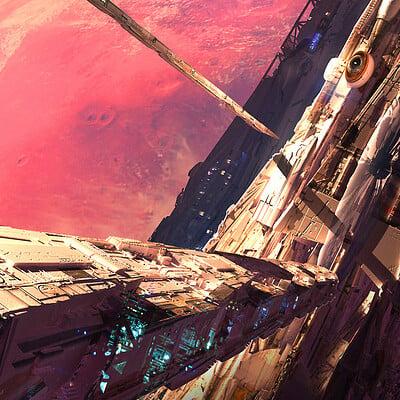 Raphael lacoste red planet net