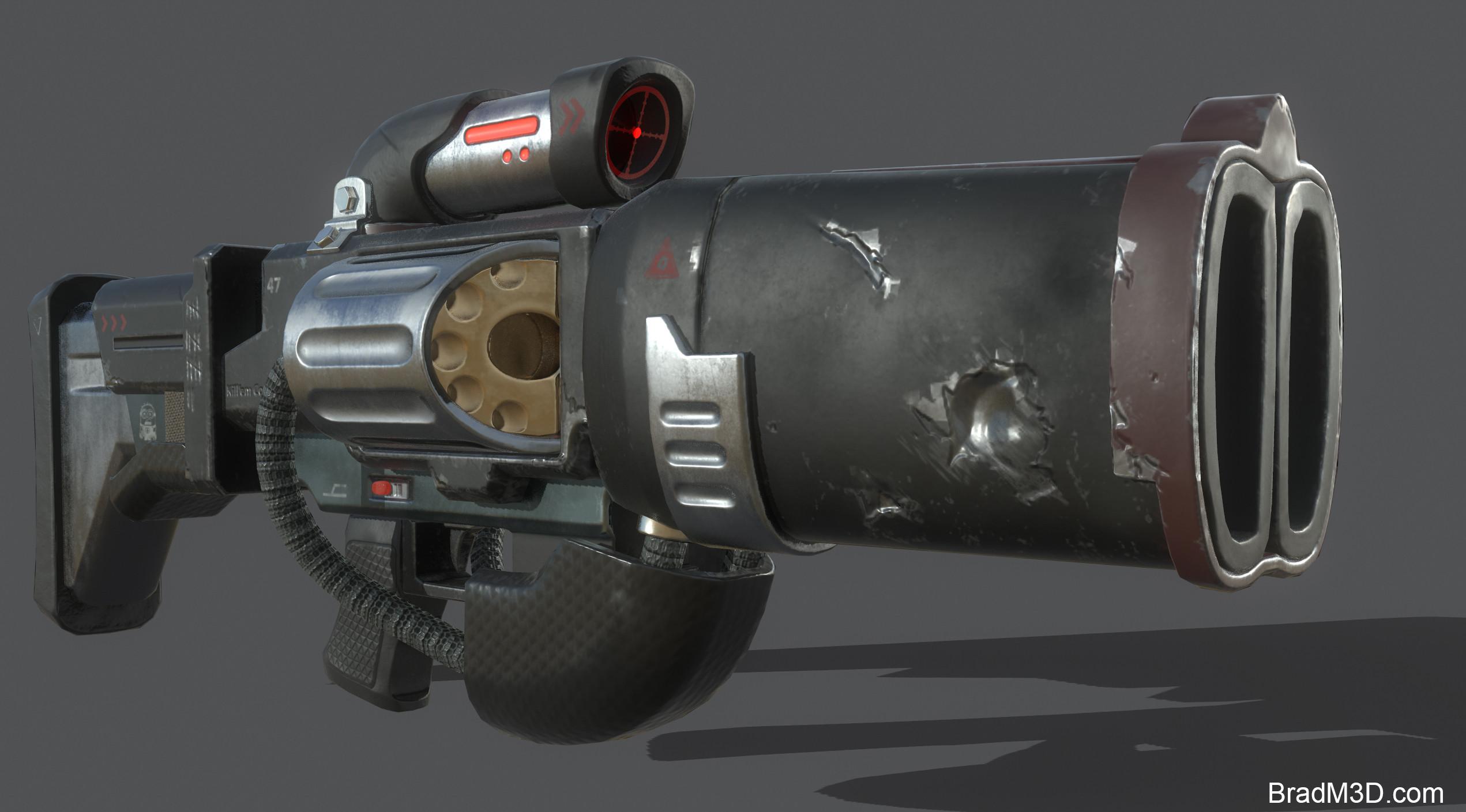 Marmoset: Screen Grab Gun_02