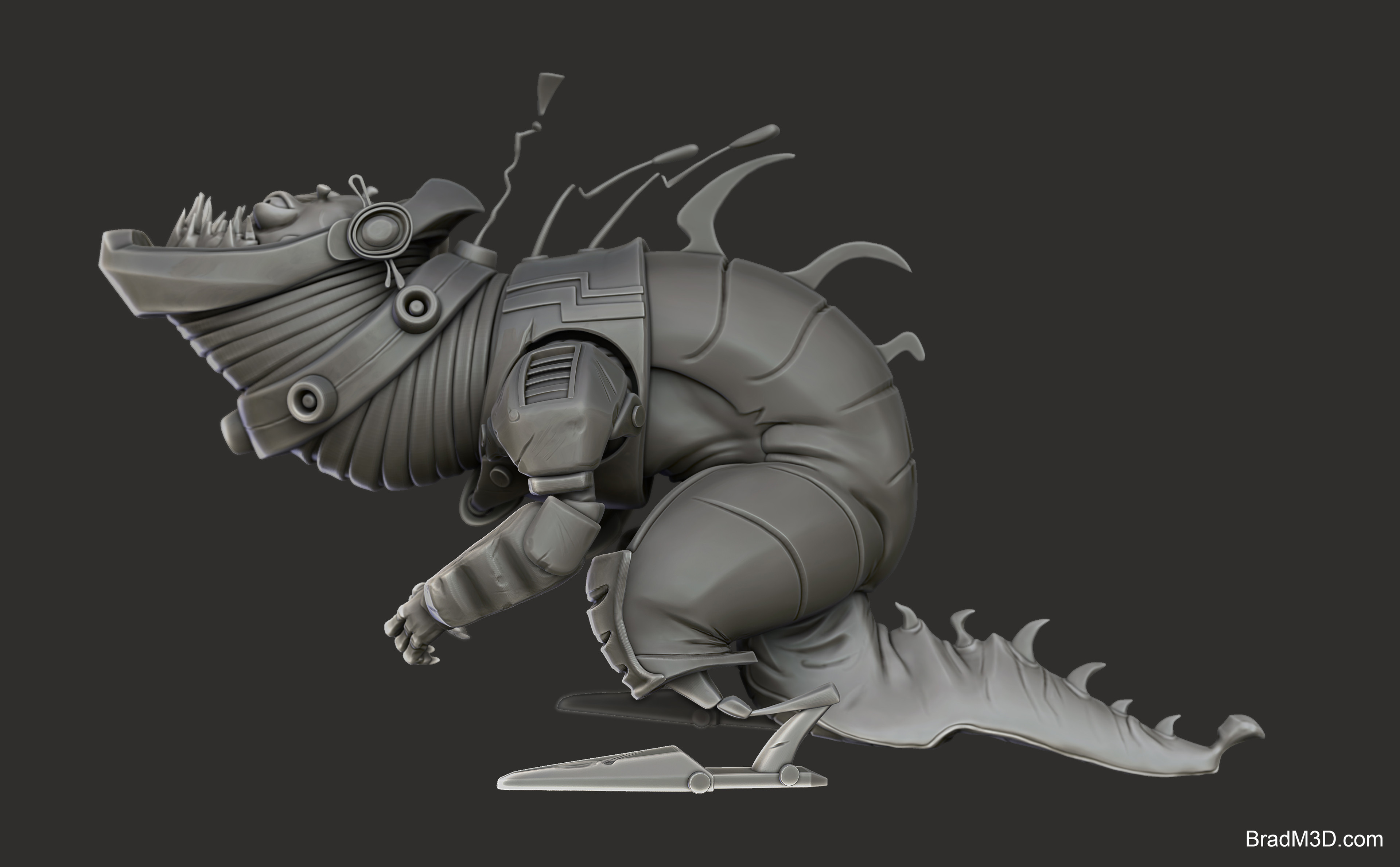 Zbrush: High Poly_02