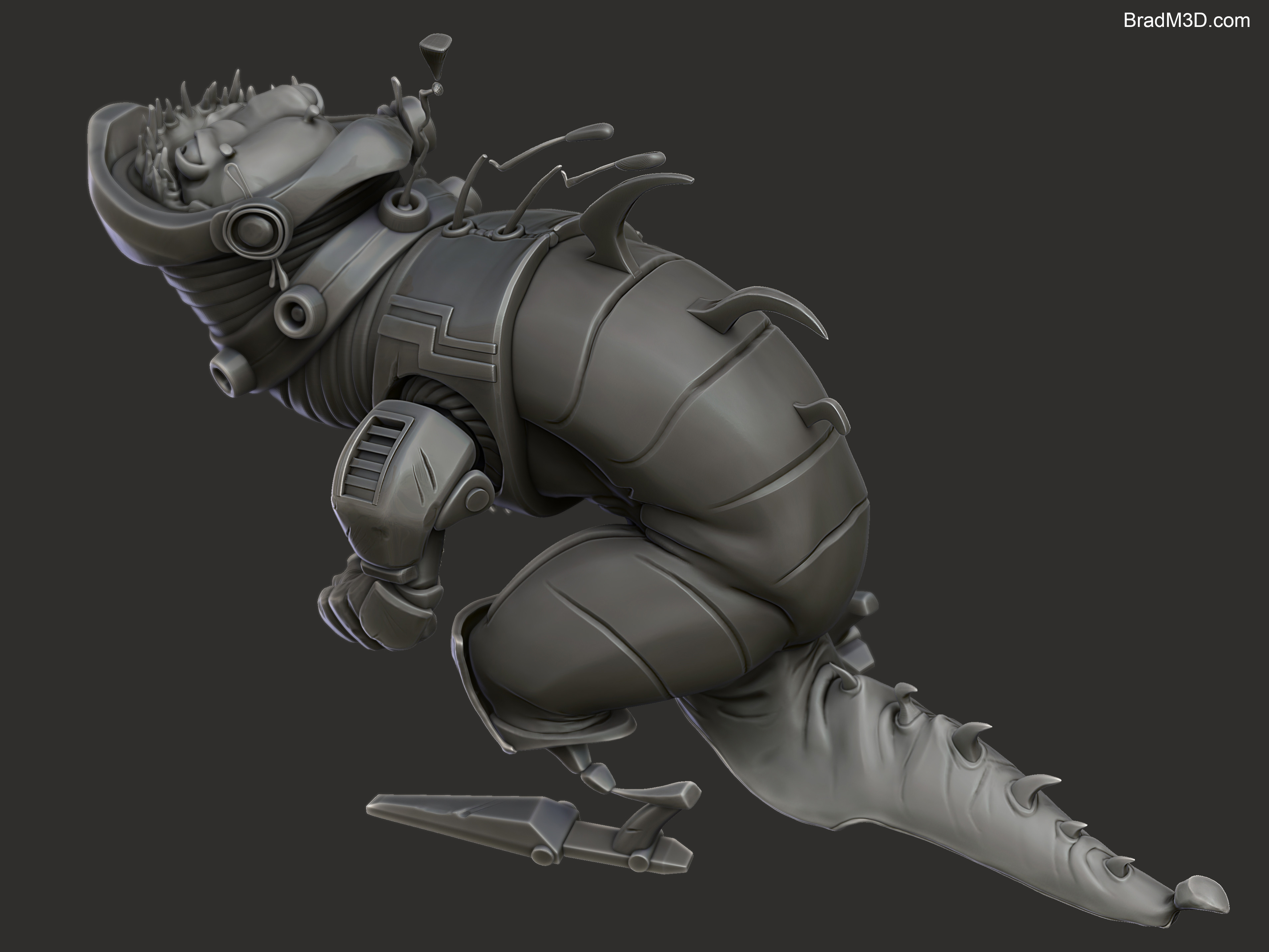 Zbrush: High Poly_03