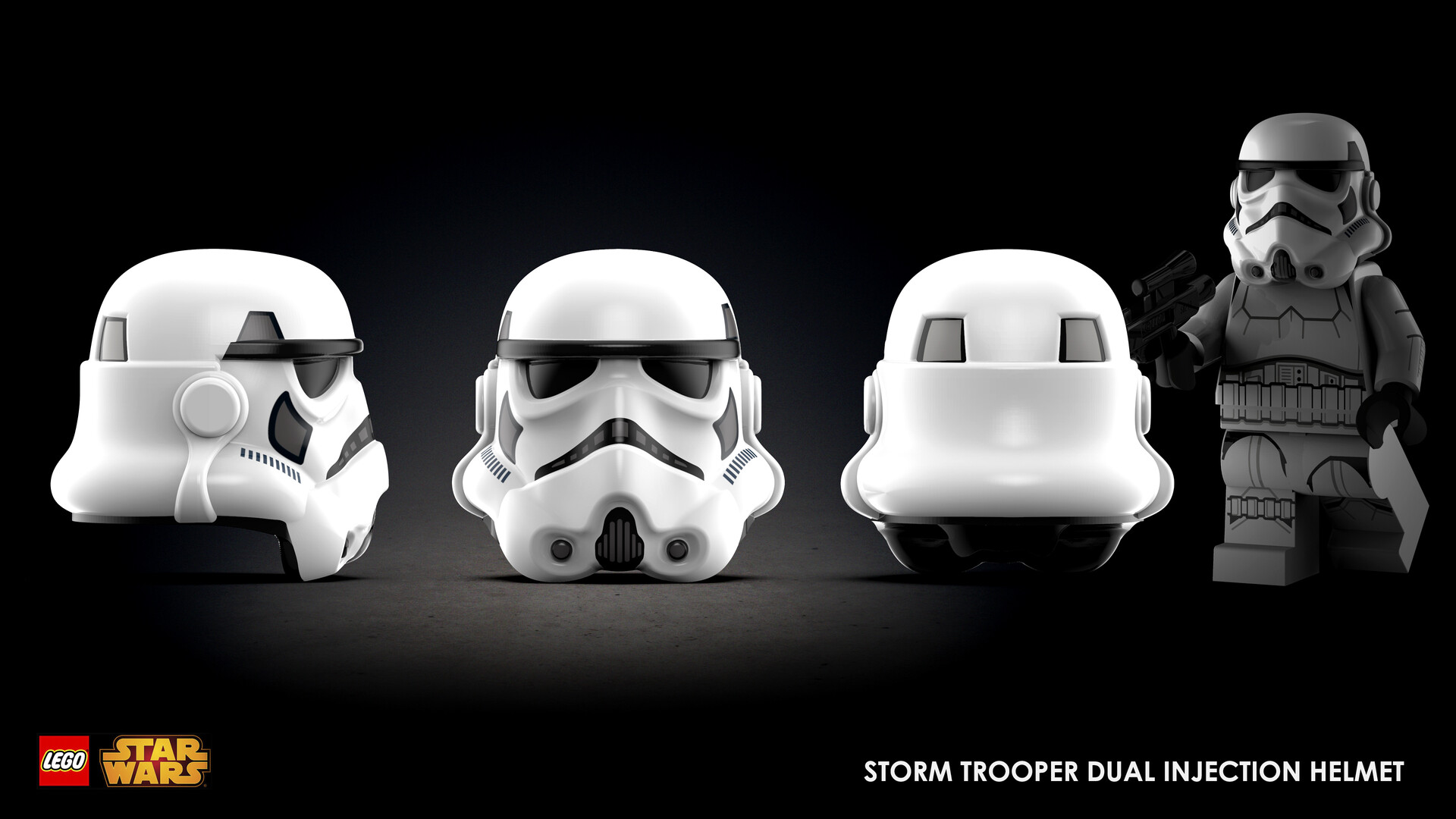 Marion wood storm trooper as trio