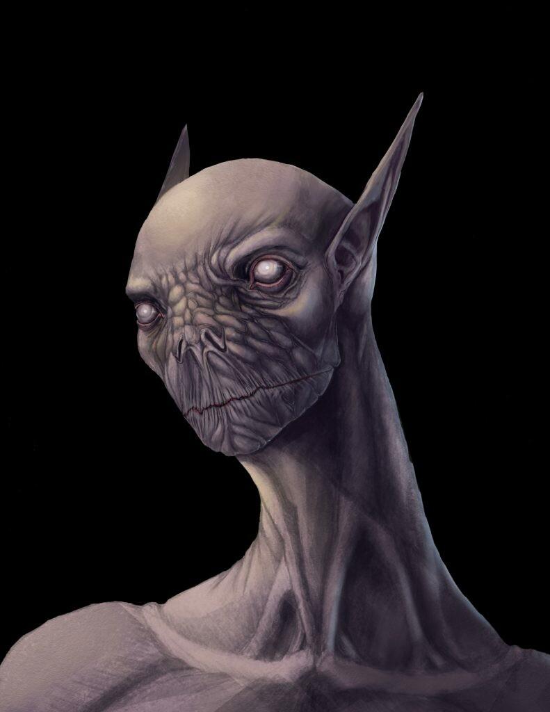 Martian character