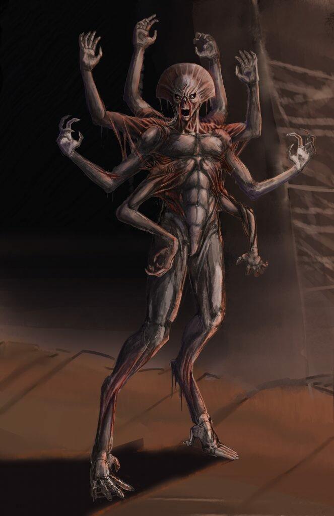 Villain character - Krieger
