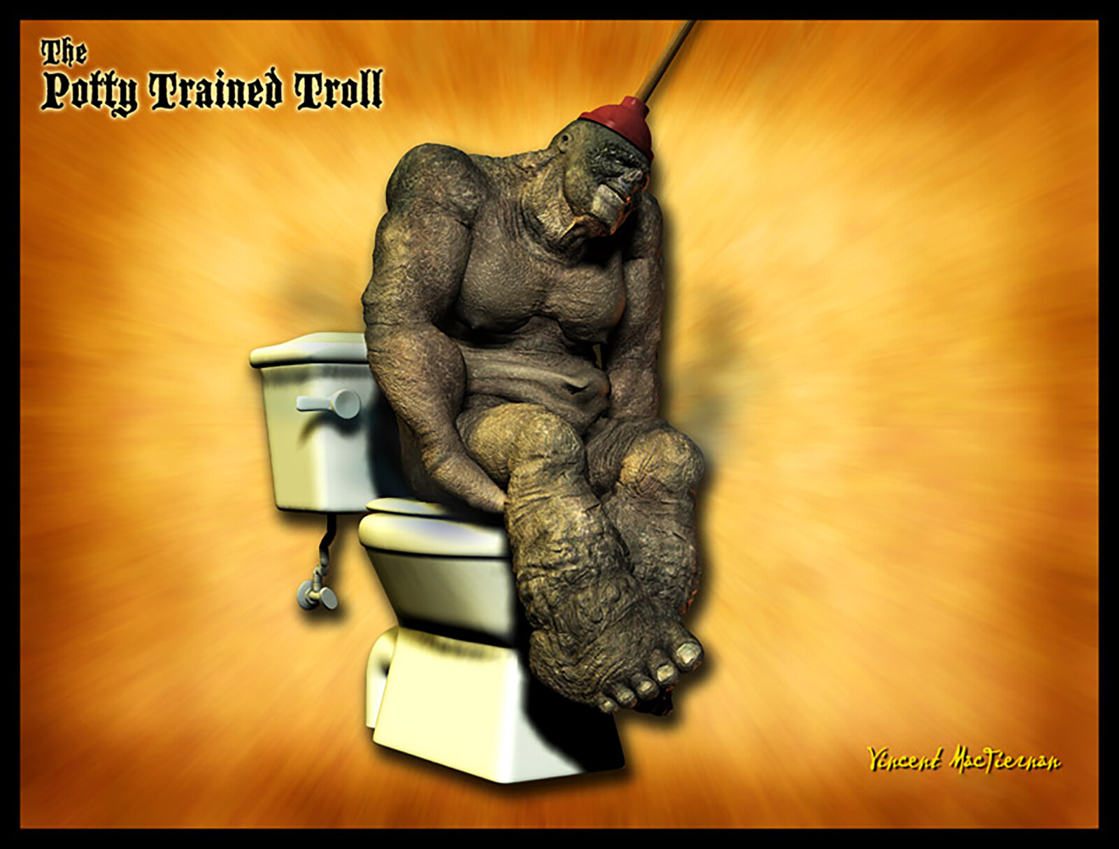 The Potty Trained Troll
