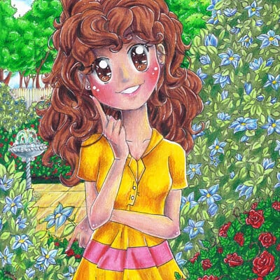 Nasika sakura gracie in the garden by nasikasakura d6j5lui fullview