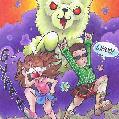 Nasika sakura zombie alpaca apocalypse by nasikasakura d7tb0n4 fullview