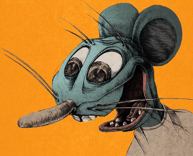 Ratt character design