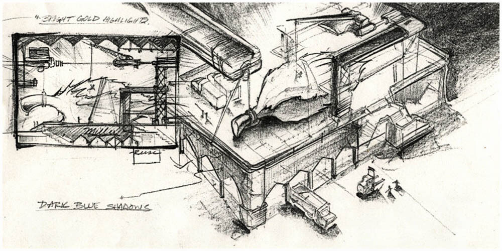 Storyboard / concept i created for Miller Brewing company while working as an art director at Cybertoons.