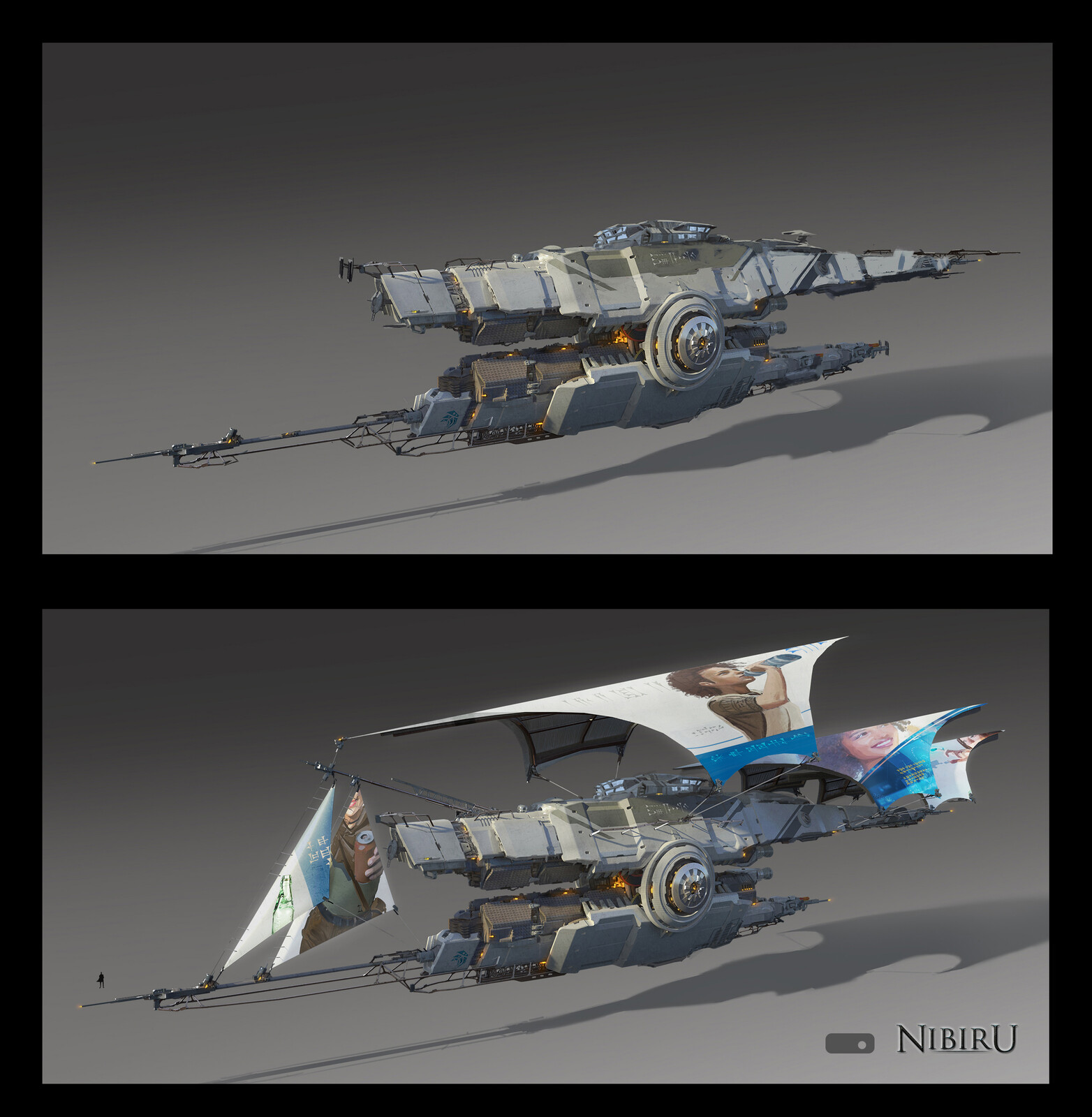 Nibiru Barge Design