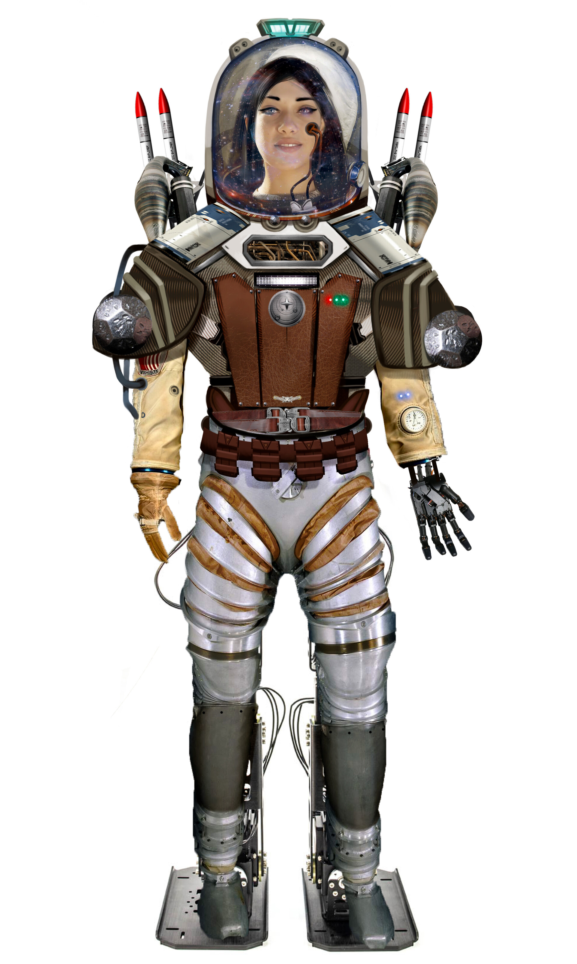 Josiah herman expedition suit concept art