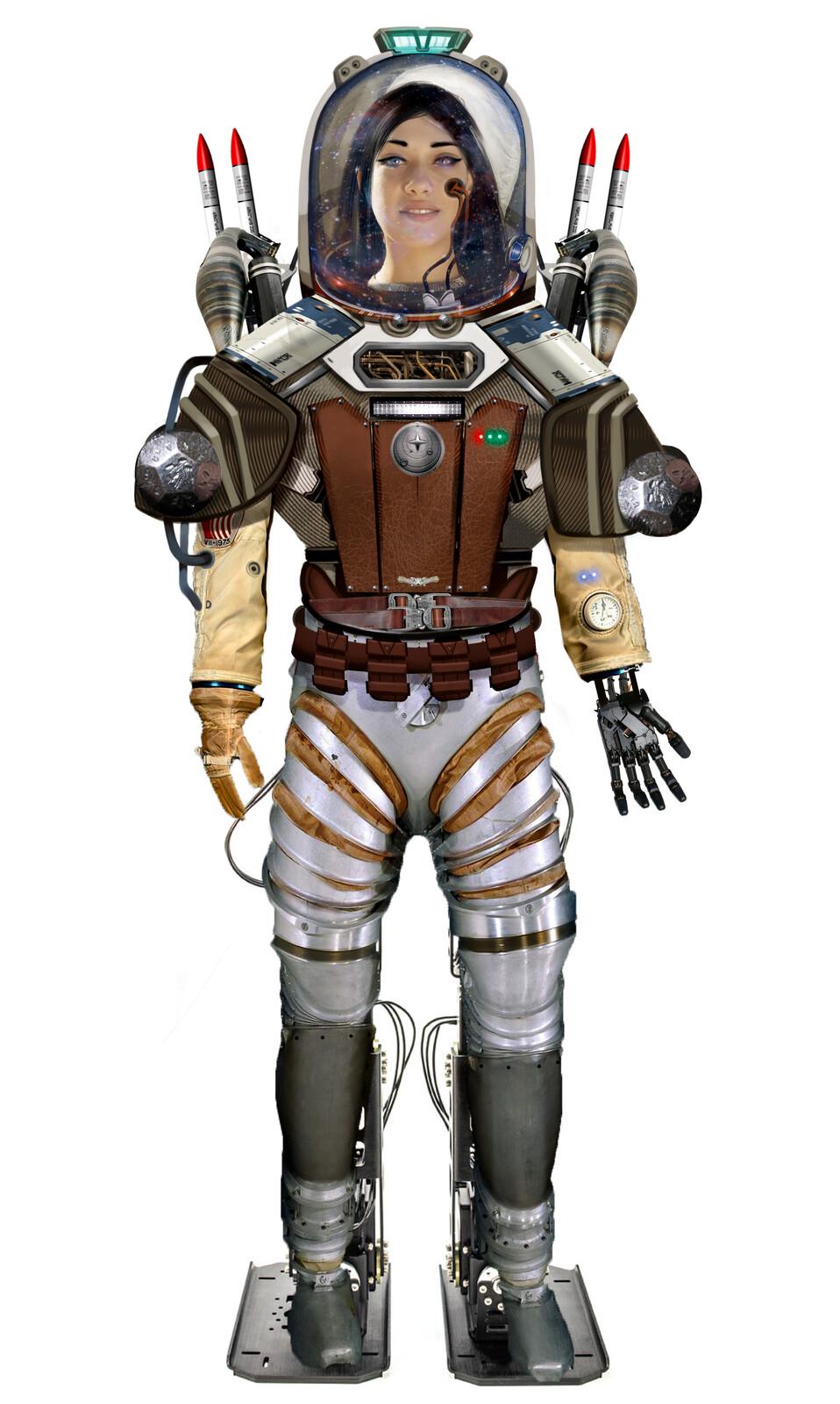 Expedition Suit Concept Art
