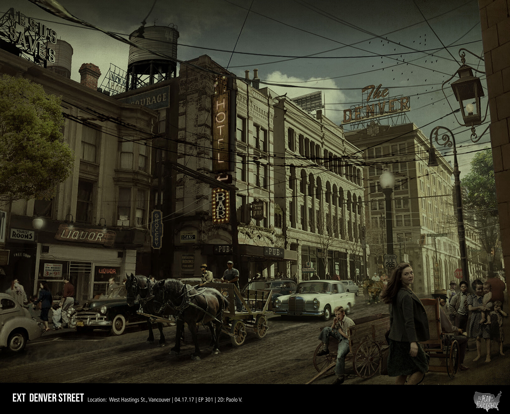 Man in the High Castle Season 3 Episode 1 Street Views