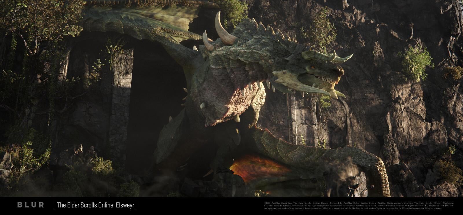 Elder Scrolls Online Elsweyr: Dragons