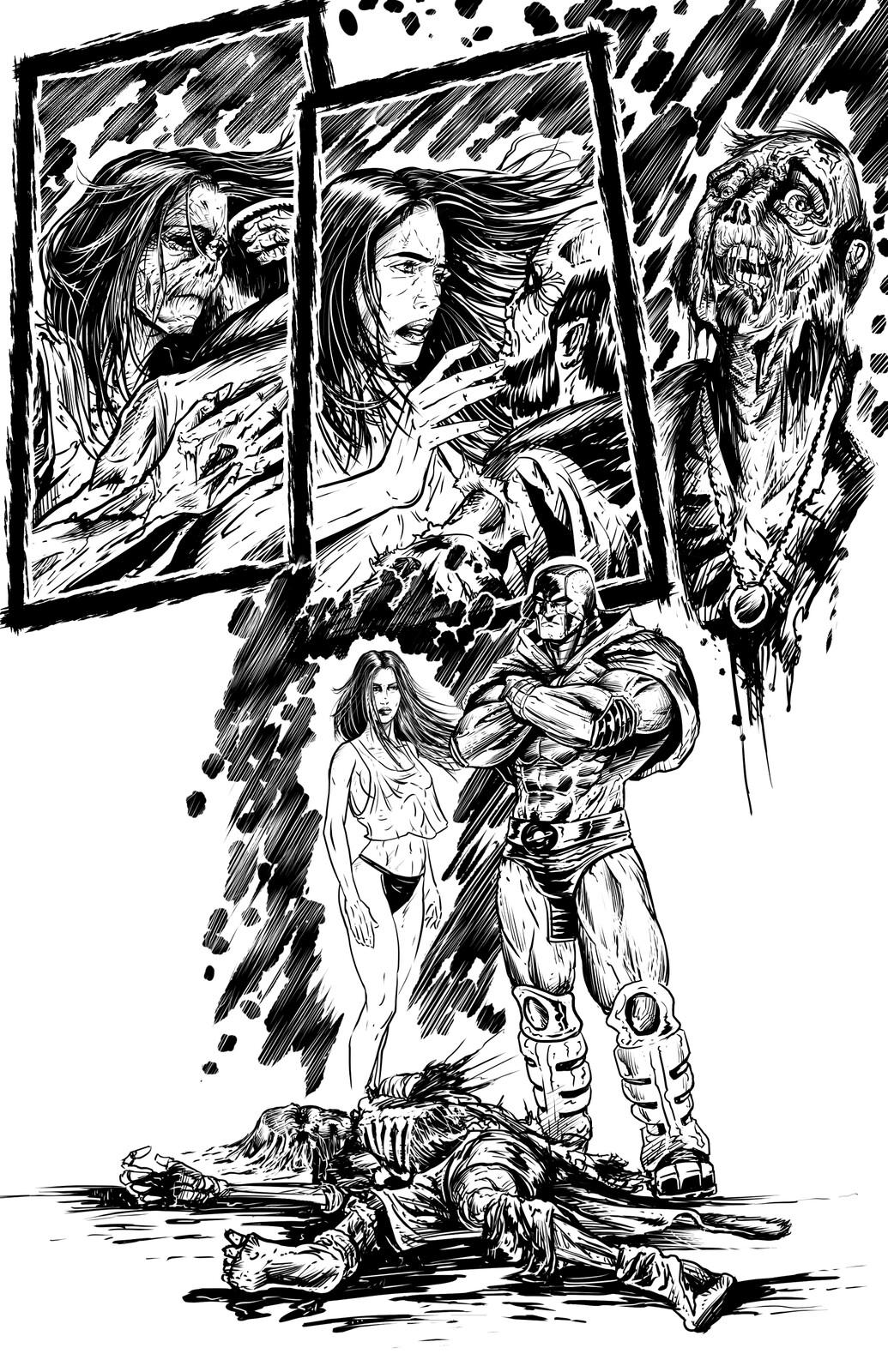 Johnny Saturn: Spiral City Noir, pg17