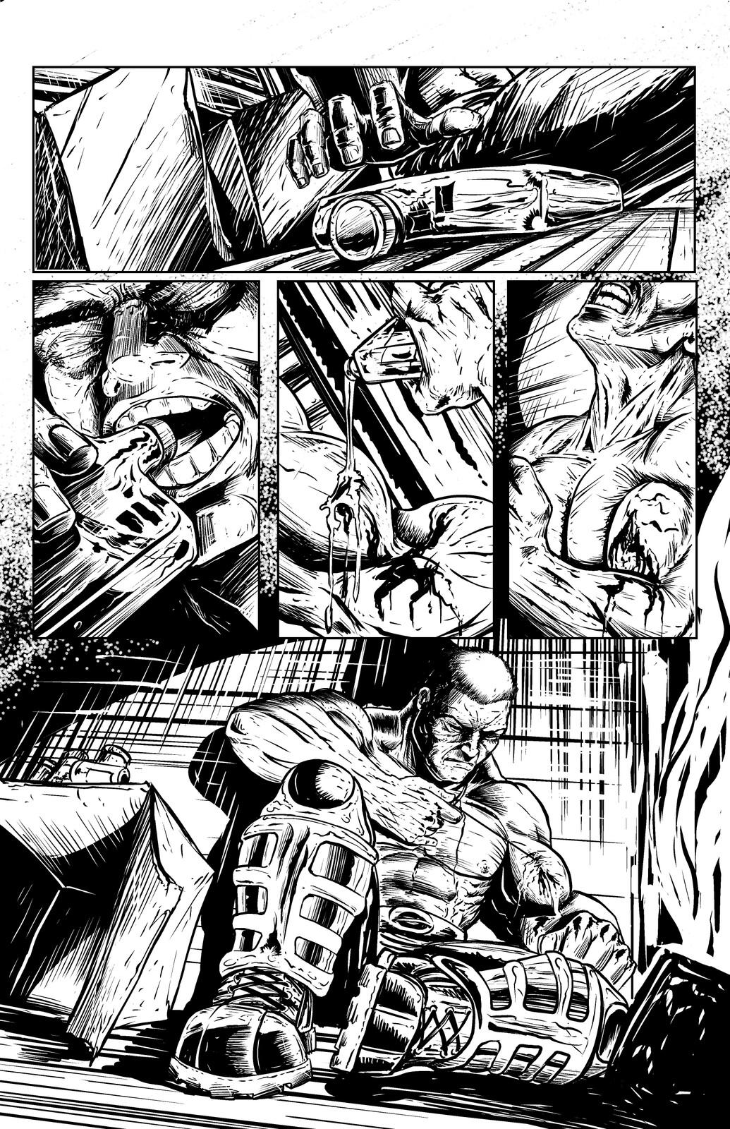 Johnny Saturn: Spiral City Noir, pg3