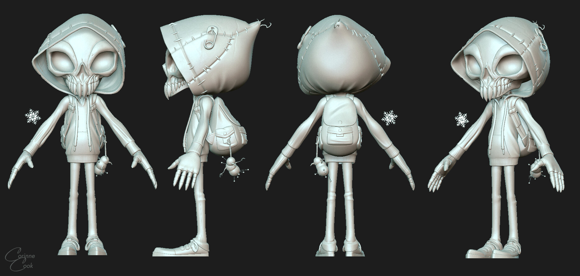 High Poly zBrush Sculpt