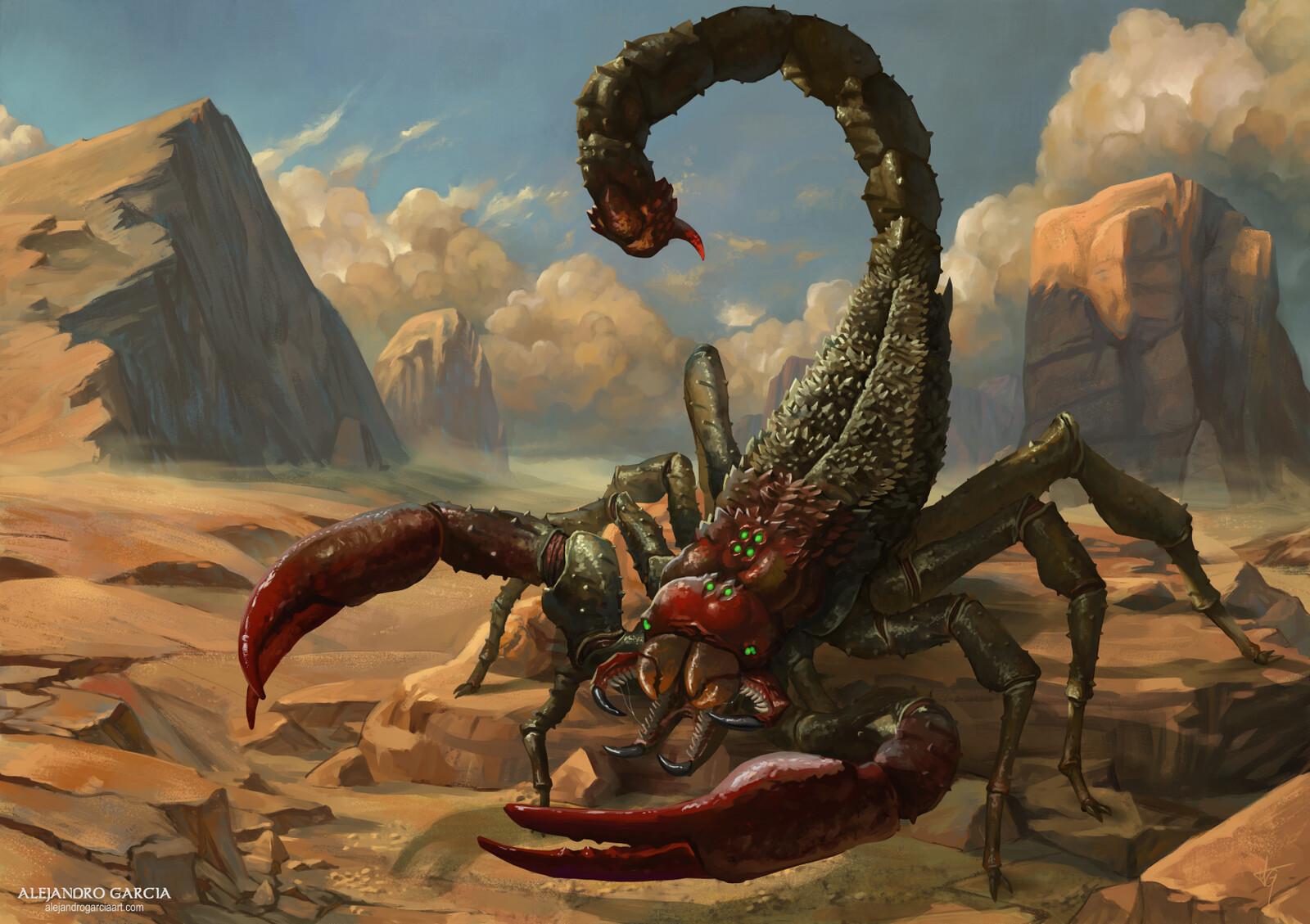 [EXO: Mankind Reborn] - Scorpion