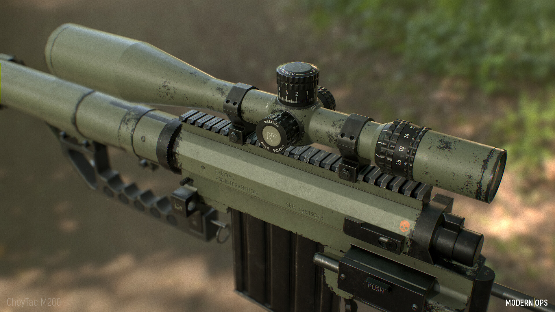 ArtStation - CheyTac M200 Intervention , Andy Westside