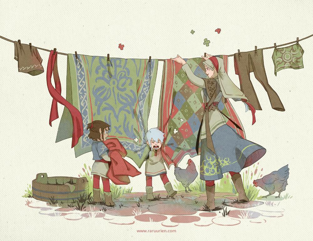 Ann maulina laundry day