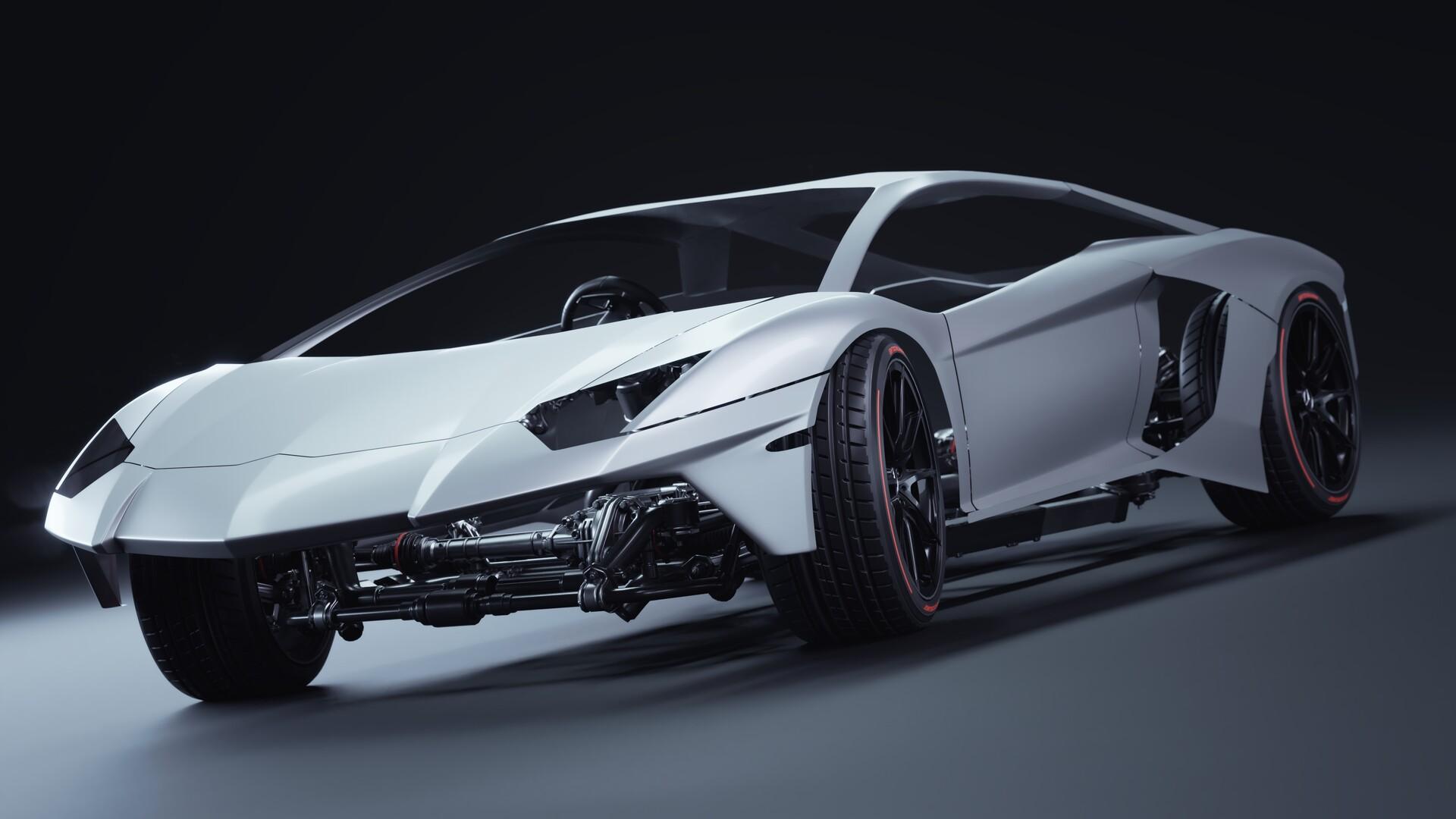 Lamborghini Aventador SV (Supercar)