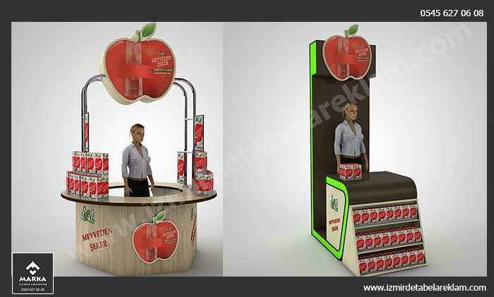 Izmir tabela reklam hizmetleri izmir stand imalati urun standi izmirde