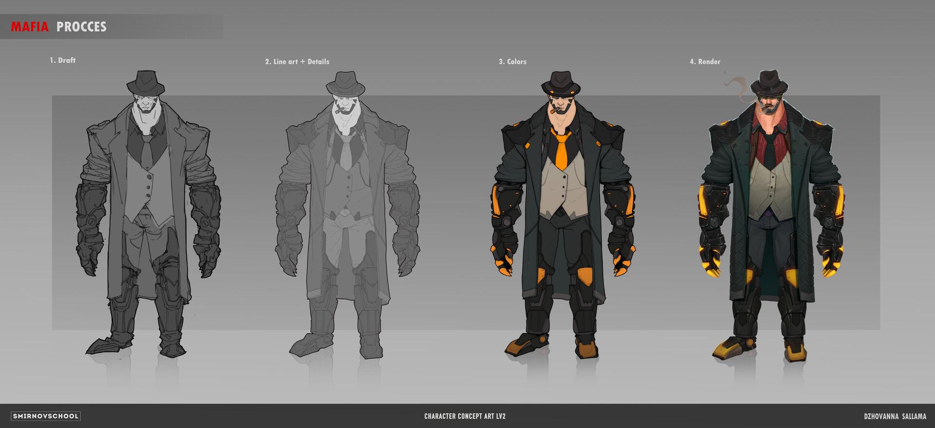Mafia 2 Concept Art