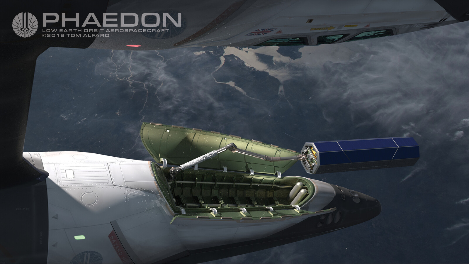Phaedon deploys satellite