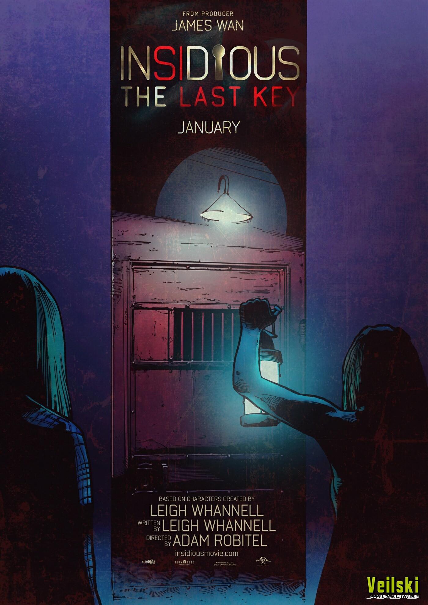 Insidious The Last Key alternative poster