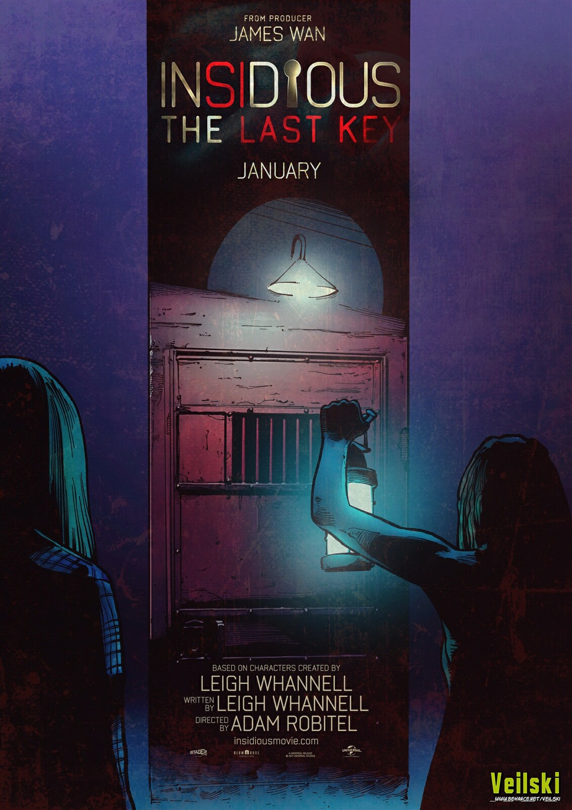 Insidious The Last Key alternative poster