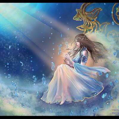Gechunyi wang water origin of life by gechunyi wang