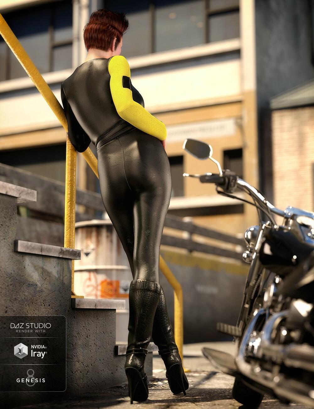 ArtStation - Moto Vixen Outfit for Genesis 8 Females, Lisa