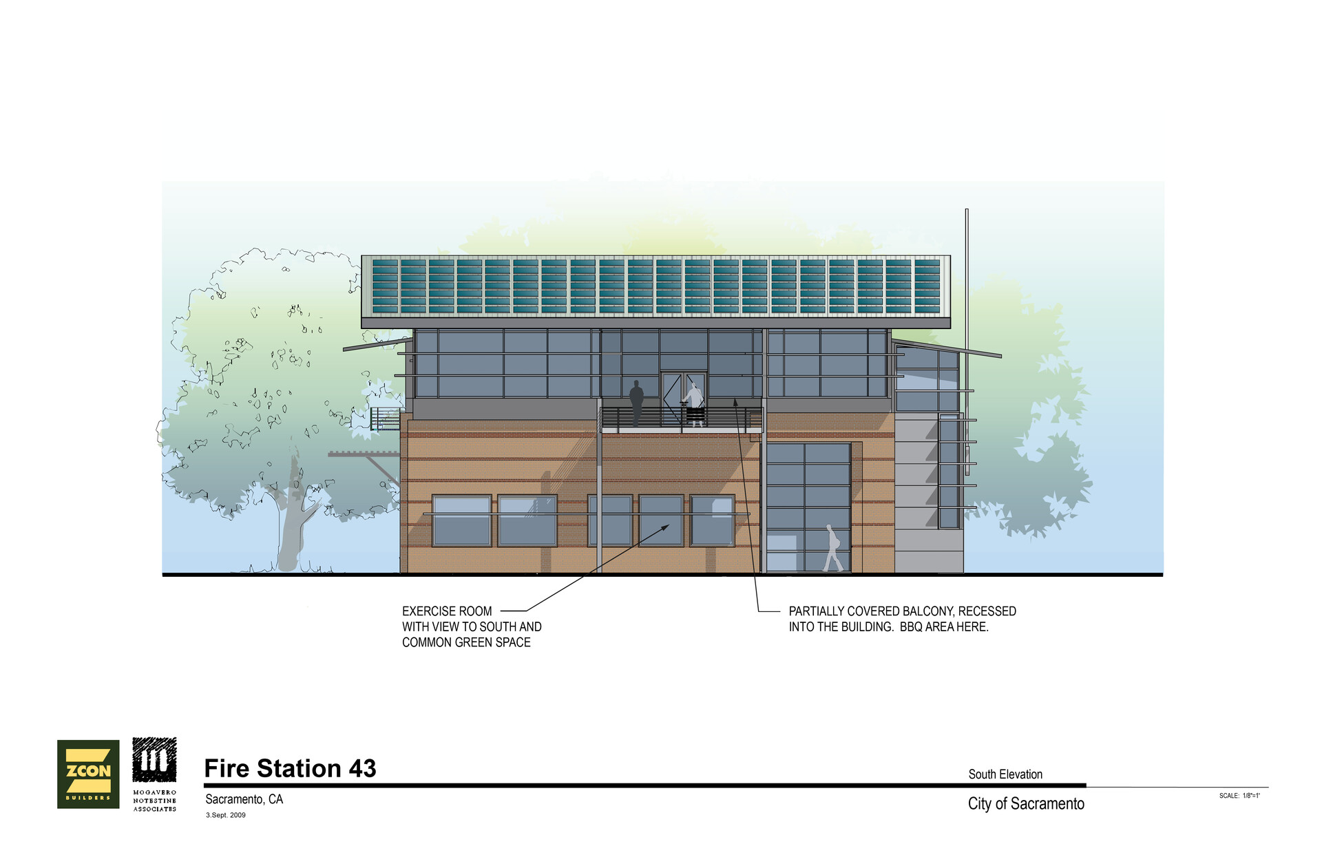 Gerard falla firestation 4311 south elevation 01