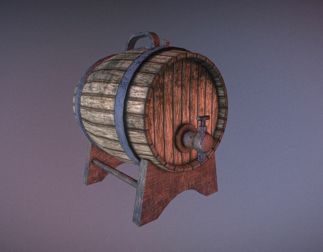 Wine/beer barrel.
