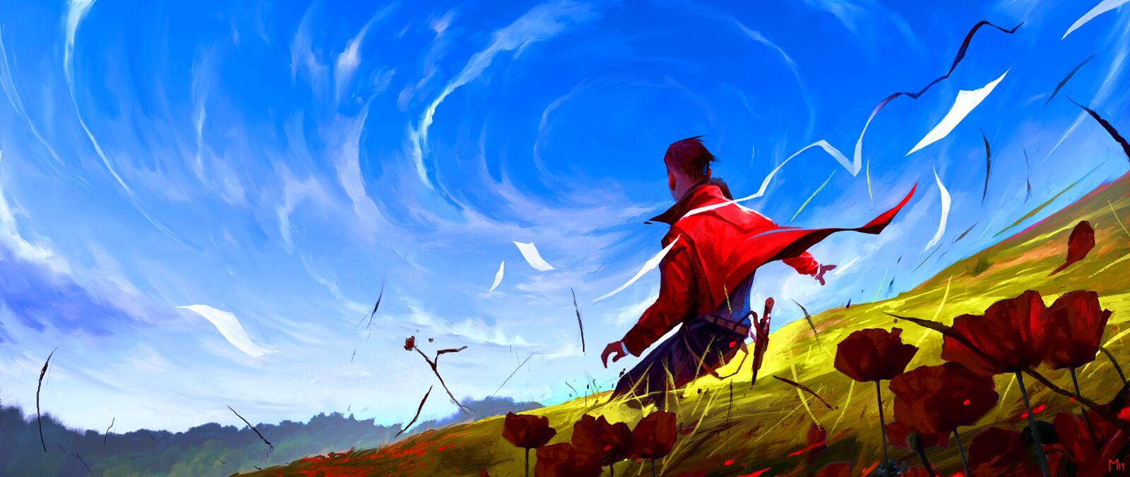 Circling Skies