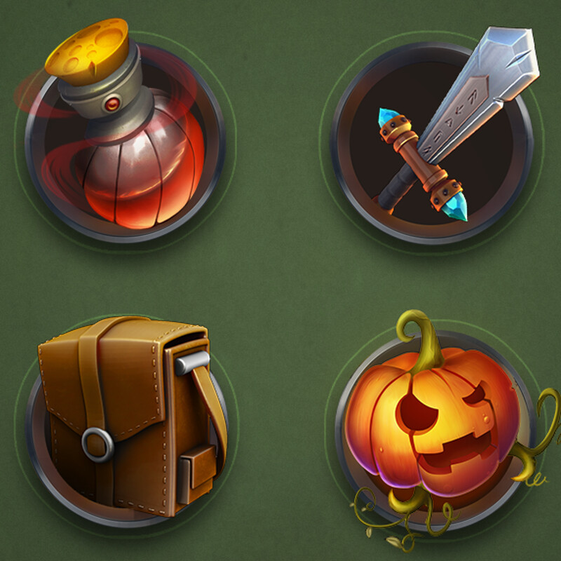 Halloween Casual Icons