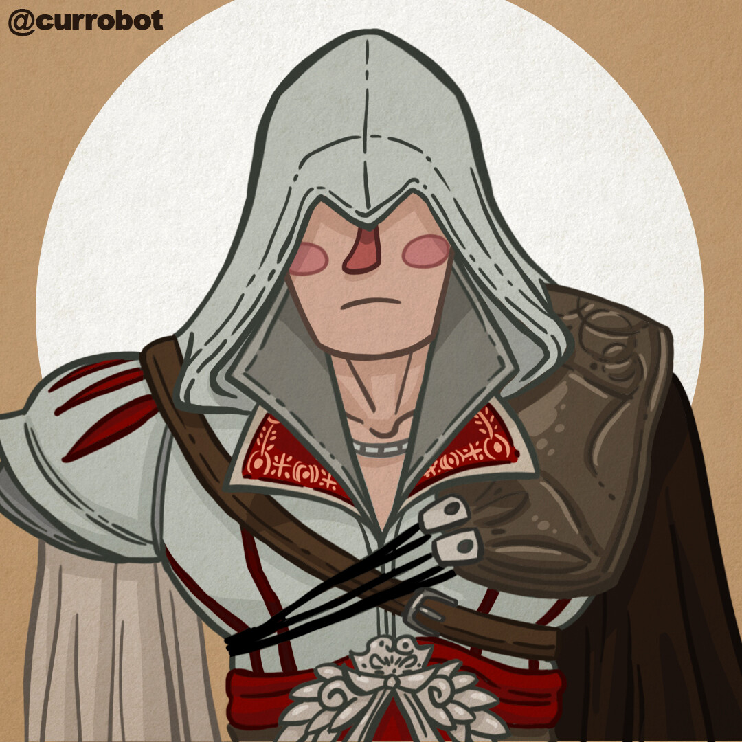 Artstation Assassin Creed Ezio Auditore Fan Art Currobot
